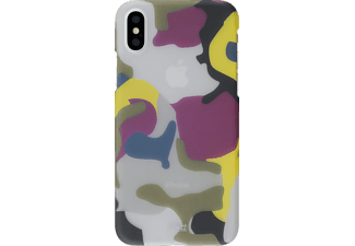 ARTWIZZ Camouflage Clip Handyhülle, Color, passend für Apple iPhone X