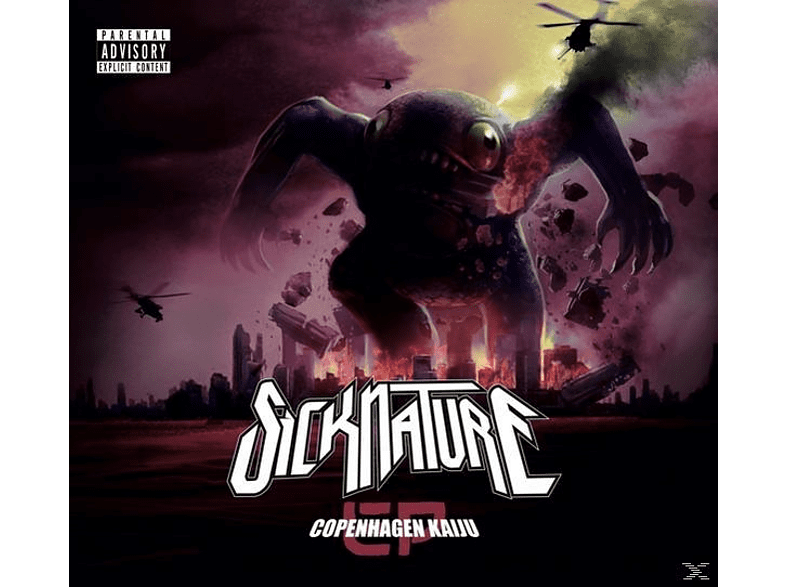 Sicknature - Copenhagen Kaiju (Ltd.Vinyl Edition) [Vinyl]