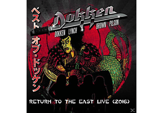 Dokken - Return To The East Live 2016 (Ltd.Gatefold) - (Vinyl)