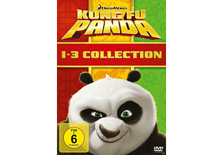 Kung Fu Panda 1-3 Collection - (DVD)