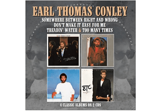 Earl Thomas Conley - Treadin' Water/Too Many Times/++(4 Albums on 2CD) - (CD)