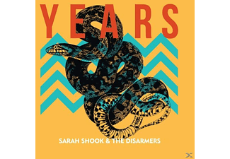 Sarah & The Disarmers Shook - Years (Heavyweight LP+MP3) - (LP + Download)