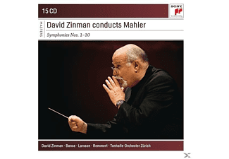 Gustav Mahler - David Zinman Conducts Mahler Symphonies - (CD)
