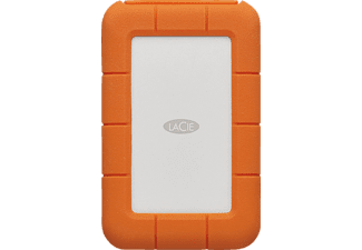 LACIE Rugged, 4 TB, 2.5 Zoll, Festplatte, Orange