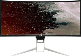 ACER XR342CK 34 Zoll UWQHD Gaming Monitor (HDMI(2.0) + HDMI(MHL) + DP + DP Out + USB Type C + USB 3.0 Hub(1up4down) + Audio Out 1x HDMI 2.0, 1x HDMI MHL, 1x DisplayPort, 1x DisplayPort Out, 1x USB Typ-C, 1x USB 3.0 Hub, 1x Audio-Out Kanäle, 4 ms Reaktionszeit, FreeSync, 75 Hz)