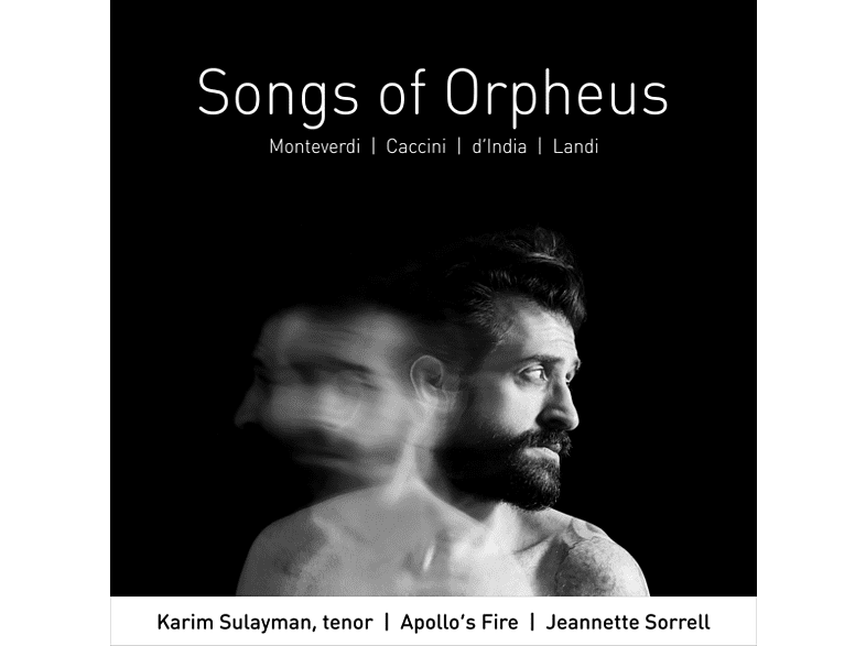 Sulayman, Sorrell, Apollos Fire - Songs Of Orpheus [CD]