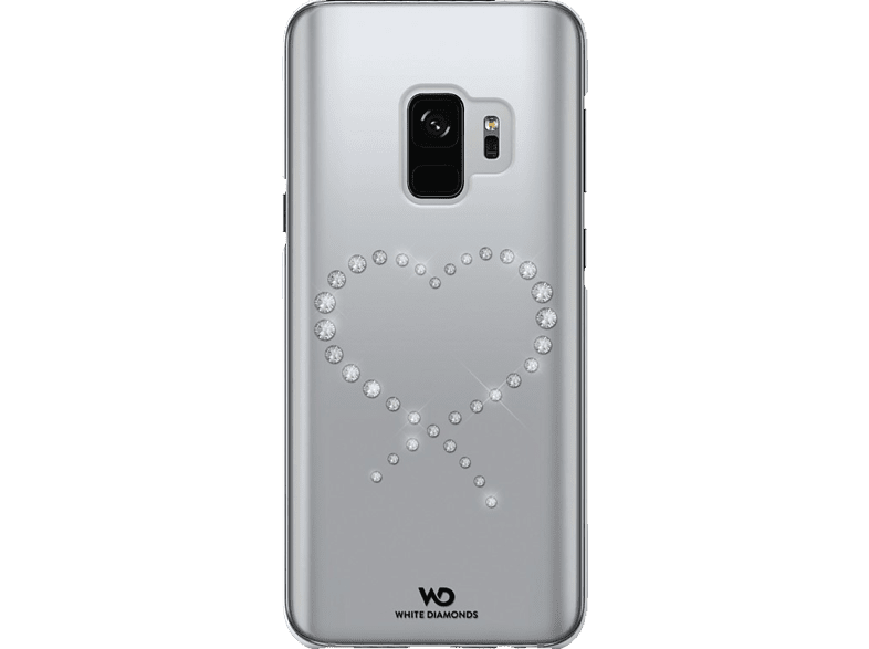 WHITE DIAMONDS Eternity , Backcover, Samsung, Galaxy S9, Kunststoff, Crystal