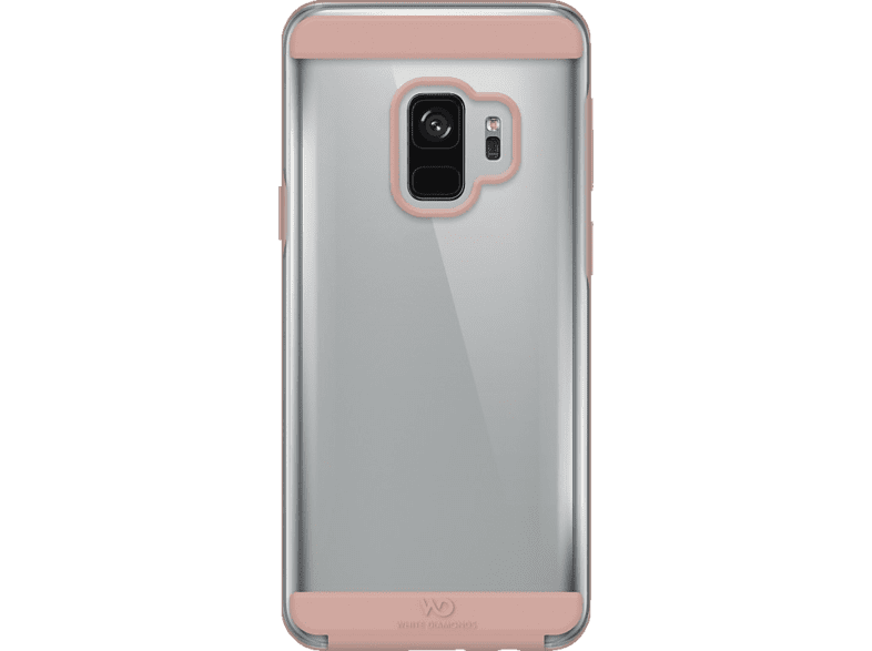 WHITE DIAMONDS Innocence , Backcover, Samsung, Galaxy S9, Thermoplastisches Polyurethan, Rosegold