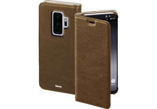 Essential Line Guard Case Bookcover Samsung Galaxy S9+ Kunstleder Braun