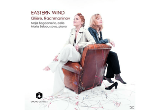 Maja Bogdanovic, Maria Belooussova - Eastern Wind - (CD)