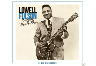Lowell Fulson - Every Day I Have The Blues - (CD)