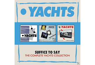 The Yachts - Suffice To Say-Complete Collection (3CD Box) - (CD)