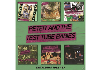 Peter & The Test Tube Bab - The Albums 1982-87 - (CD)