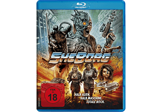 SheBorg - Halb Alien. Halb Maschine. Totale Bitch. - (Blu-ray)