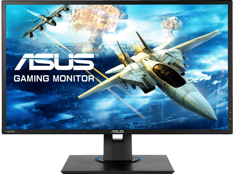 ASUS VG245HE  Full-HD Gaming Monitor (1 ms Reaktionszeit, FreeSync, 75 Hz)