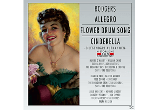 The Broadway Orchestra & Chorus/The CBS Orchestra - Allegro/Flower Drum Song/Cinderella - (CD)