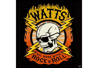 Watts - All Done With Rock'n'Roll EP - (CD)