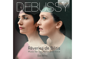 Duo Bilitis - Reveries De Bilitis-Music For Two Harps And Voice - (CD)