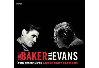 Chet  Baker & Bill Evans - Complete Legendary Sessions (CD)