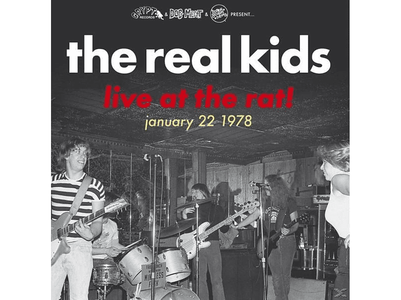 Real Kids - Live At The Rat! January 22 1978 [Vinyl]