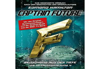 Captain Future: Die Herausforderung-Folge 04 - 1 CD - Science Fiction/Fantasy