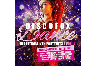 VARIOUS - Discofox Dance Vol.2 Die Ultimativen Party Hits [CD]