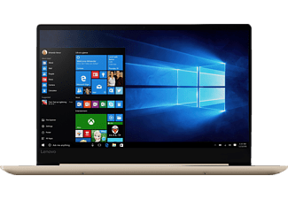 LENOVO IdeaPad 720S, Notebook mit 14 Zoll Display, Core™ i5 Prozessor, 8 GB RAM, 512 GB SSD, GeForce MX 150, Champagne Gold