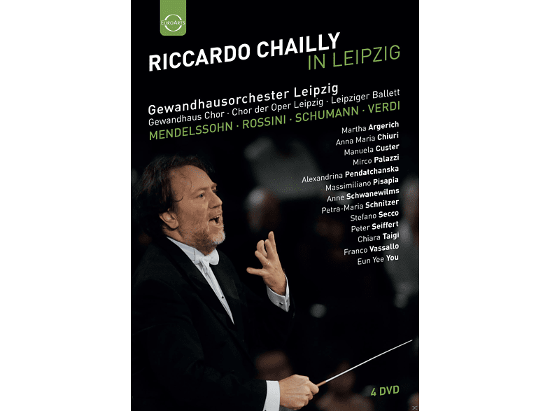 VARIOUS - Riccardo Chailly in Leipzig [DVD]