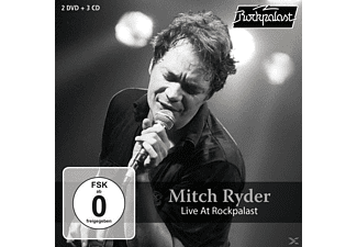 Mitch Ryder - Live At Rockpalast (3 CD+2 DVD Boxset) - (CD + DVD Video)