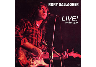 Rory Gallagher - Live! In Europe (Remastered 2011) - (Vinyl)
