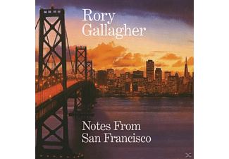 Rory Gallagher - Notes From San Francisco (2CD) - (CD)