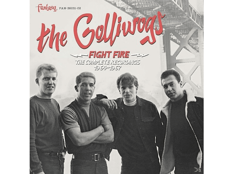 Golliwogs - Fight Fire: The Complete Recordings 1964 - 1967 [CD]
