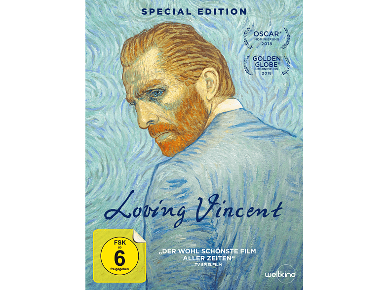 Loving Vincent (Limited Special Edition) [DVD]