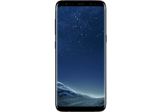 SAMSUNG Smartphone Galaxy S8+ 64 GB Midnight Black (SM-G955FZKALUX)