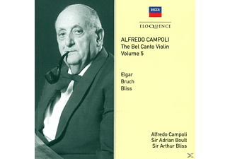 Campoli/Boult/Bliss/London Philharmonic Orch. - Alfredo Campoli-die belcanto-Violine vol.5 - (CD)