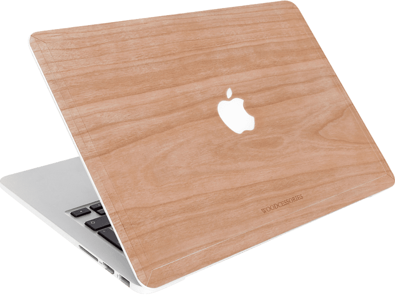 WOODCESSORIES EcoSkin Notebookhülle, Backcover, 12 Zoll, Kirschholz