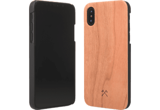 WOODCESSORIES EcoCase Classic Handyhülle, Braun, passend für Apple iPhone X