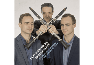 Duo Gurfinkel, Philharmonisches Orchester des Staatstheaters Cottbus - Concertante - (CD)