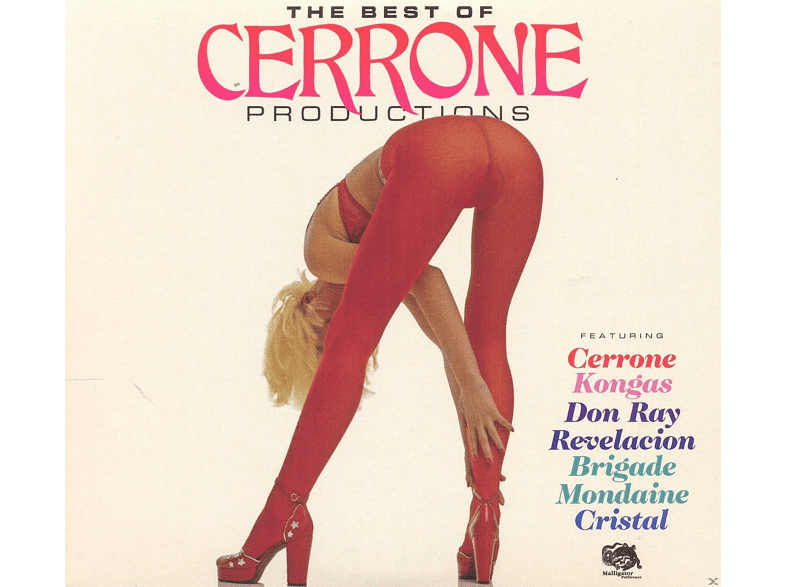 VARIOUS - The Best Of Cerrone Productions [CD]