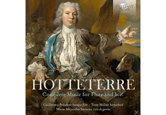 G. Peñalver - A. Campillo - T. Millán - M. A. Saturno - Hotteterre-Complete Music For Flute - (CD)