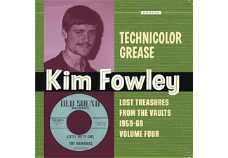 VARIOUS - Technicolor Grease - (Vinyl)