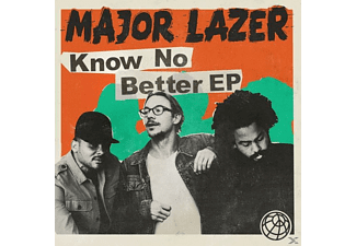 Major Lazer - Know No Better (6 Track EP) - (CD)