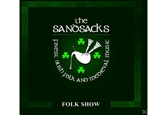 The Sandsacks - Folk Show - (CD)