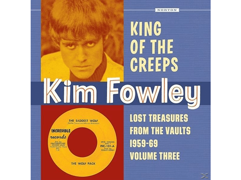 VARIOUS - King Of The Creeps [CD]