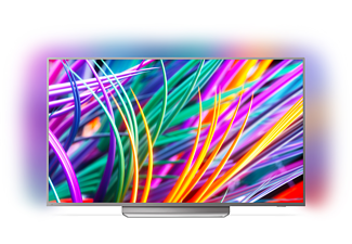 PHILIPS 55PUS8303, 139 cm (55 Zoll), UHD 4K, SMART TV, LED TV, 2900 PPI, Ambilight 3-seitig, DVB-T2 HD, DVB-C, DVB-S, DVB-S2