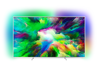 PHILIPS 75PUS7803, 189 cm (75 Zoll), UHD 4K, SMART TV, LED TV, 1700 PPI, Ambilight 3-seitig, DVB-T2 HD, DVB-C, DVB-S, DVB-S2