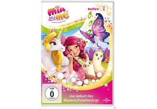 Mia and me - Staffel 3 - Vol. 6 - Die Geburt des Riesenschmetterlings - (DVD)