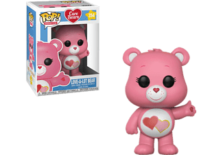 FUNKO UK POP! Animation: Care Bears - Love-A-Lot Bear Vinylfigur, Rosa