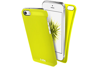 SBS MOBILE COVER COLOR FEEL IPHONE SE/5 YELLOW