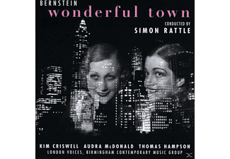 London Voices, Thomas Hapson - Wonderful Town - (CD)